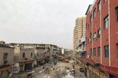 禹州东环路农贸市场拆除工作最新进展