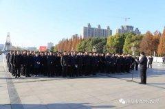 """禹州市森林公安局参加""""12·4""""宪法宣誓仪式"""