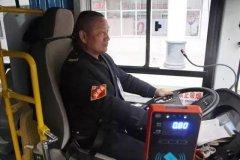 禹州公交驾驶员任跃昌用心开车24年无事故