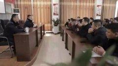 禹州公路巡警四中队民警集中召集禹州金科再生资源运输公司说是为了......!