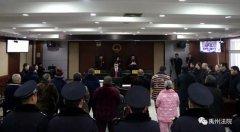 禹州市法院对张某芳涉恶案一审宣判