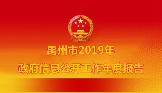 禹州市2019年政府信息公开工作年度报告