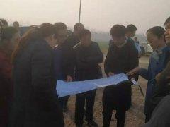 禹州市自然资源和规划局对郑万高铁临时用地复垦情况进行初验