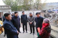 禹州市领导看望慰问驻禹部队官兵及部分困难群众