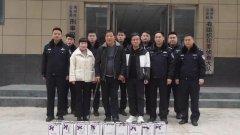 今天大年三十,禹州市公安局有组织犯罪侦查大队干警为啥真激动