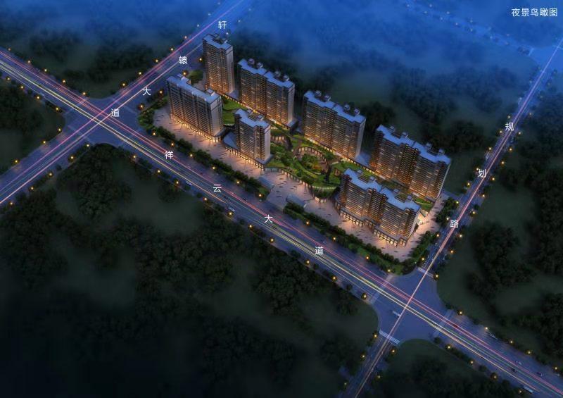 禹州湖畔庭院效果图