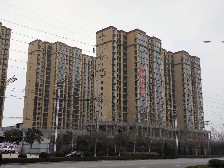 禹州湖畔庭院实景图