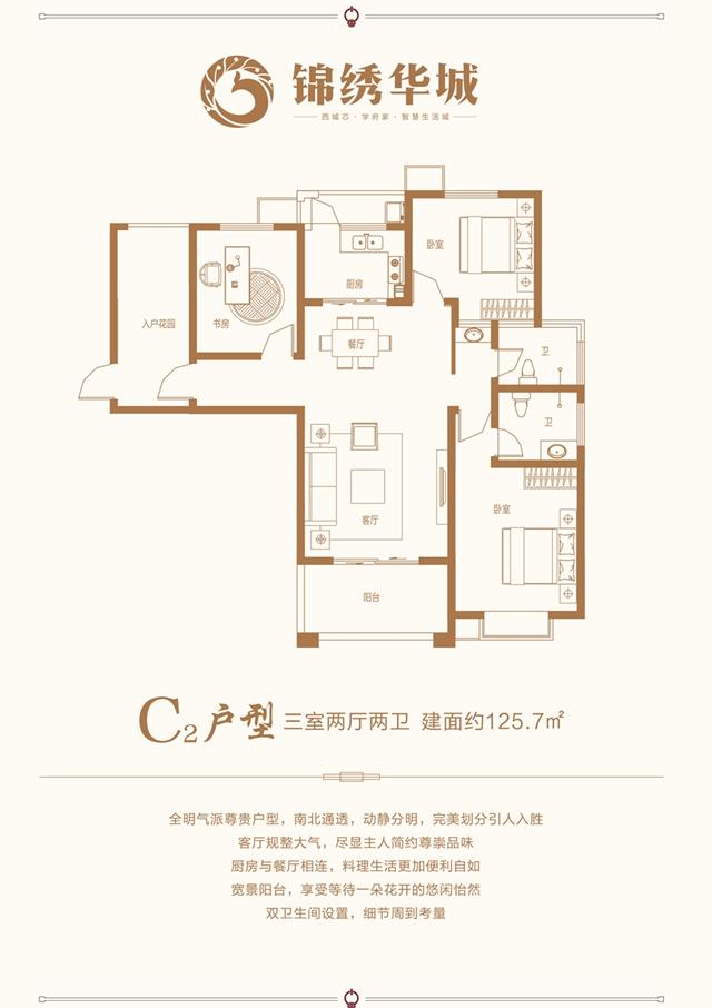禹州锦绣华城户型图