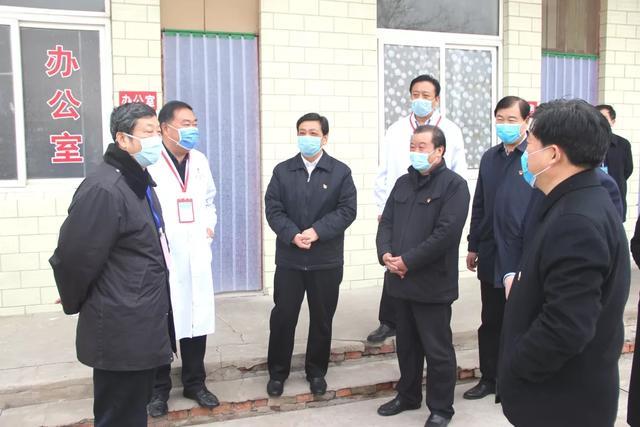 河南省疫情防控指挥部指导组莅禹州调研新冠肺炎疫情防控工作