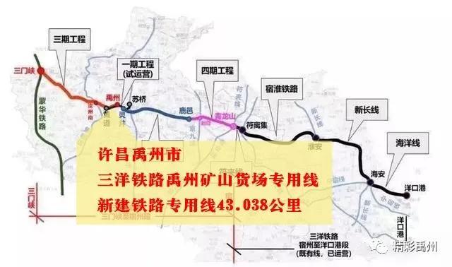 利好消息!禹州将新建一条铁路专用线
