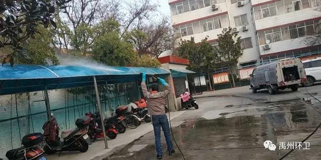禹州环卫:打造洁净环境 助力复工复产