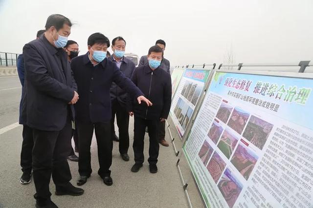 许昌林业生态建设观摩团莅临禹州市实地观摩林业生态建设工作