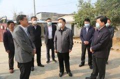 许昌市委常委、统战部长王文杰莅禹调研脱贫攻坚工作
