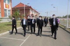 禹州市市长范晓东实地督导调研教育系统复学开课工作