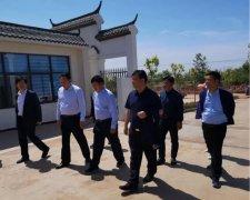 许昌市政府副秘书长侯坡一行到禹州市督导调研敬老院建设工作