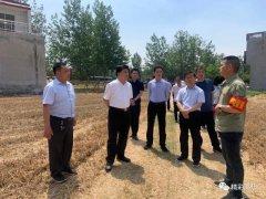 禹州市长范晓东调研三夏生产及秸秆禁烧工作