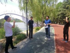 禹州市文化广电和旅游局开展涉旅企业防溺亡专项安全检查工作!