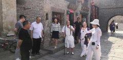 北京中关村国际协同创新平台总顾问一行来禹州神垕古镇考察!