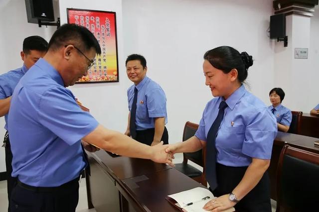 禹州市检察院隆重举行庆祝建党99周年系列活动