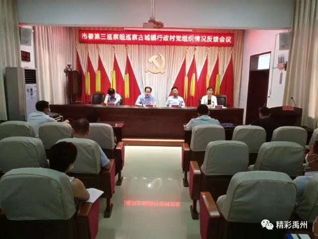 巡察反馈!涉及禹州8个乡镇,214个行政村...看有恁村没