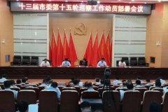 禹州十三届市委第十五轮巡察工作动员部署会议召开