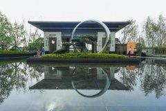 禹州恒达滨河府文化造景国韵叠翠 屋檐下的东方人居美学