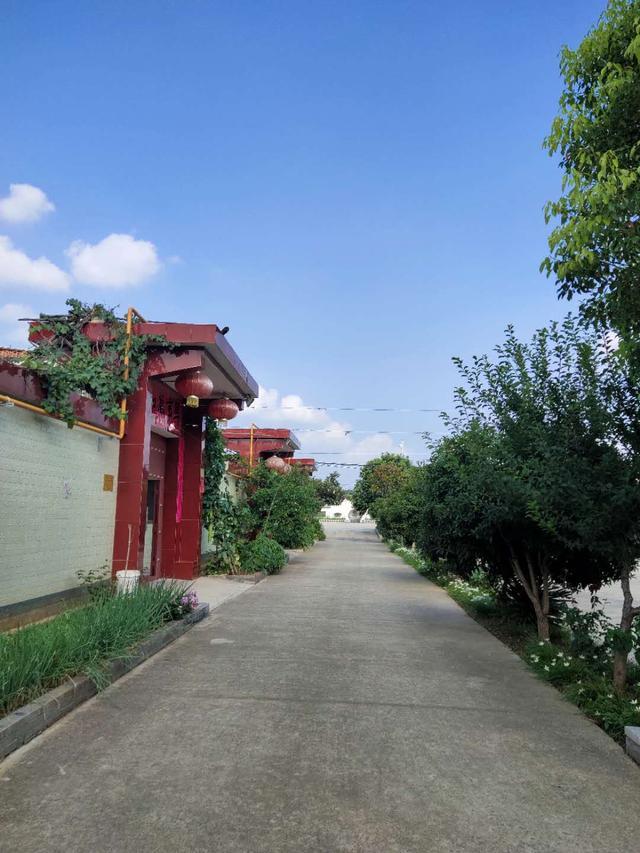 禹州美丽乡村在鸿畅展开画卷