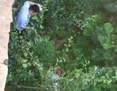 禹州公安方山所雨夜救起失足跌沟老人