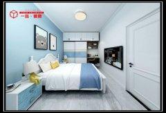 禹州一品装饰恒达美园98平两室两厅设计效果图