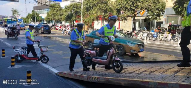 """在禹州,你的非机动车违规停放""""不翼而飞""""?取回方式在这里,相互转告"""