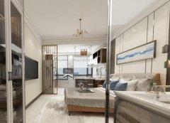 禹州一品装饰恒达一居室公寓装修设计效果图