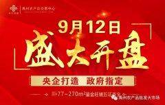 9月12日禹州农批盛大开盘!火爆势头定不负众望!