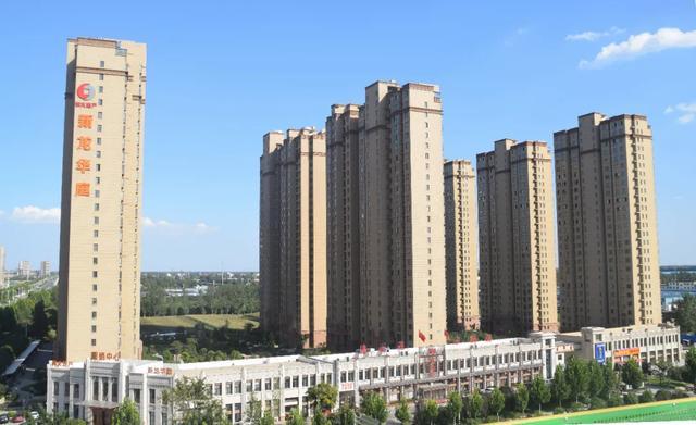 禹州新龙华庭西地块9月工程快讯