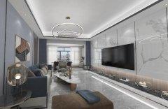 禹州一品装饰金域蓝湾四室两厅装修设计效果图