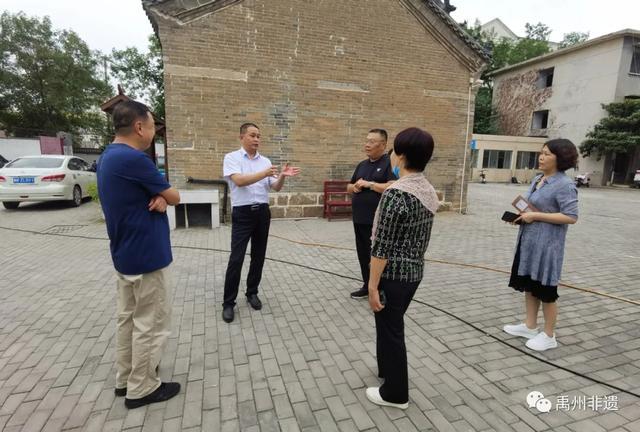 禹州市九个展示传习示范馆得到河南省文旅厅考核组高度评价!