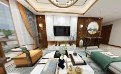 禹州一品装饰建业中式装修设计效果图