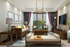 禹州一品装饰建业三层别墅中式装修设计效果图