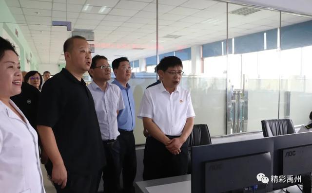 禹州市委书记黄河调研安全生产工作