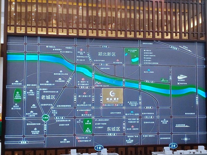 禹州绿城蘭亭实景图