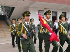 禹州南区学校举行主题升旗仪式