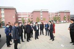 许昌技术经济学校到禹州中专参观交流