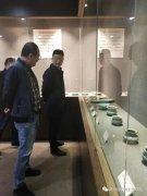 杭州市博物馆馆长金宵航莅临禹州宣和陶瓷博物馆参观交流