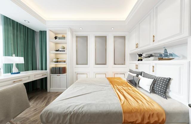 河南恒途装饰复式简欧全屋装修设计效果图