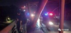 凌晨禹州彩虹桥一女子欲跳河,紧急关头被民警一把拉住