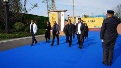 禹州恒达滨河府项目迎来北京兰德咨询公司、中证长凯投资公司领导考察