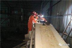 禹州市消防救援大队成功处置搅拌机卡人事件