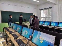 禹州市教体局一行莅临禹州南区学校参观指导工作