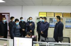 禹州市委书记黄河到市人民医院调研疫情防控工作