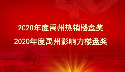 """2020年度""""禹州热销楼盘奖""""与""""禹州影响力楼盘奖""""出炉!"""