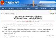 """禹州两所幼儿园入选河南省""""家园共育""""示范幼儿园!"""